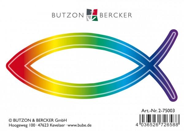 Autoaufkleber Regenbogenfisch