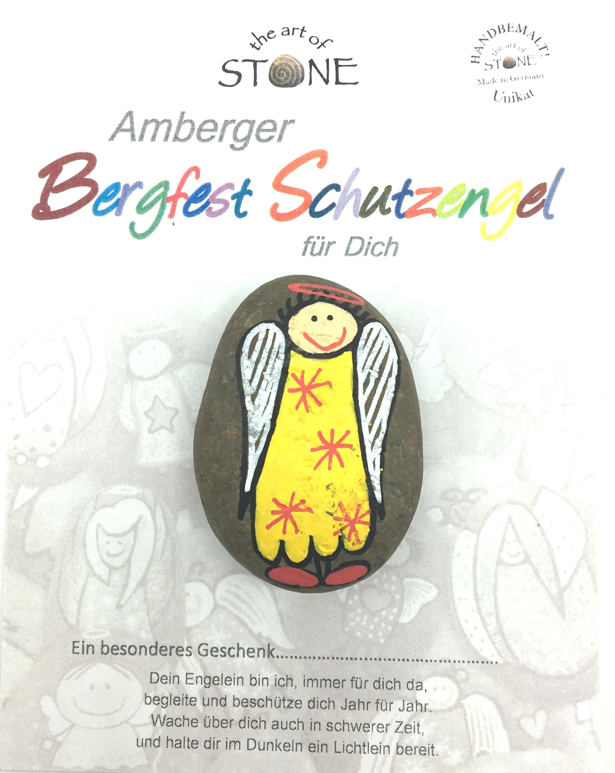 """Handschmeichler """"Amberger Bergfest Schutzengel"""" Handschmeichler Begleiter"""