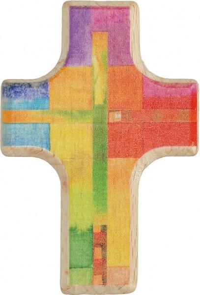 """Handschmeichlerkreuz """"Gottes Segen"""" Buchholz 6 x 4 cm"""