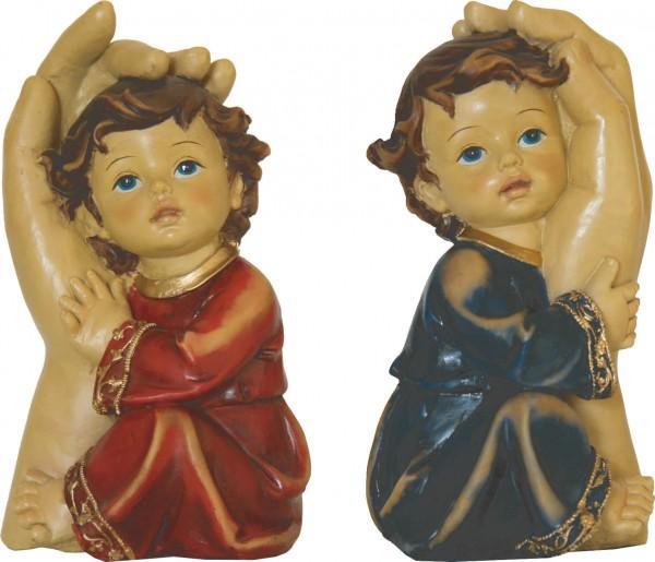 """Figur """"Schützende Hand"""" 11,3 cm"""