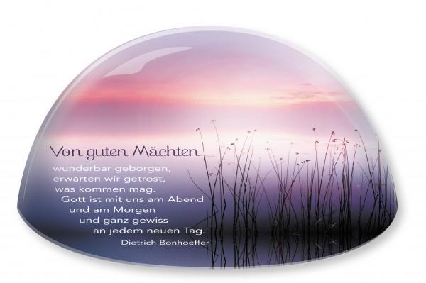 """Glasmoment """"Von guten Mächten"""" 3,8 cm"""