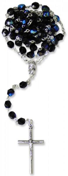 Rosenkranz mit Kristallperle scabaree 49 cm