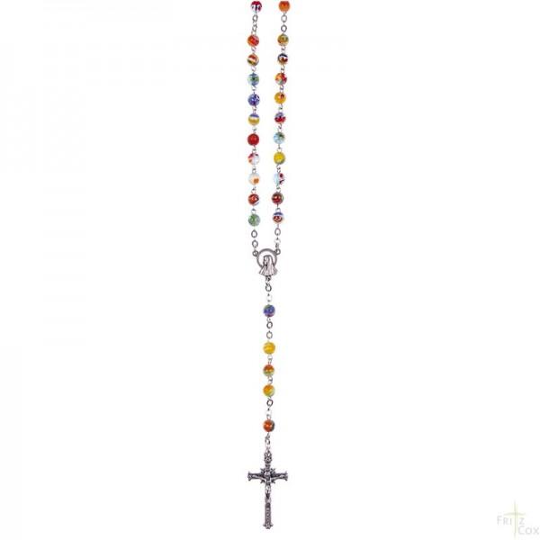 Rosenkranz aus Muranoglas 42 cm