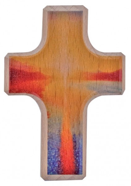 """Handschmeichlerkreuz """"Schutz und Segen"""" Buchholz 6 x 4 cm"""