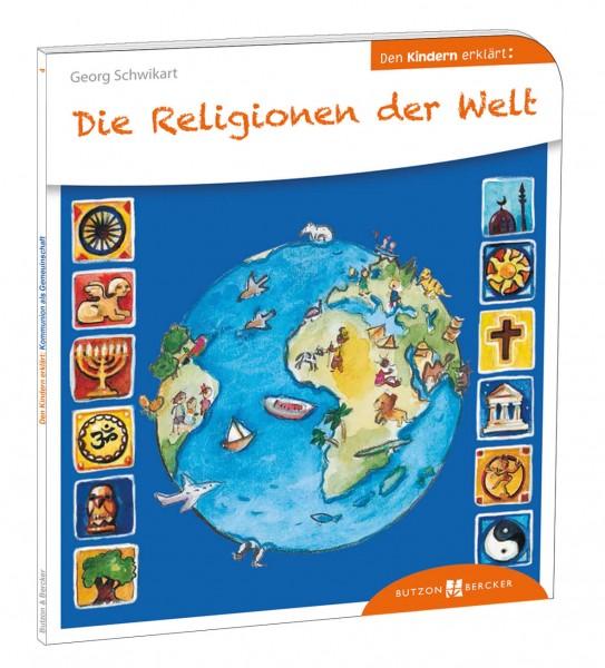 """Kinderbuch """"Die Religionen der Welt den Kindern erklärt"""""""