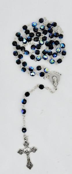 Rosenkranz mit Kristallperle scabaree 40 cm
