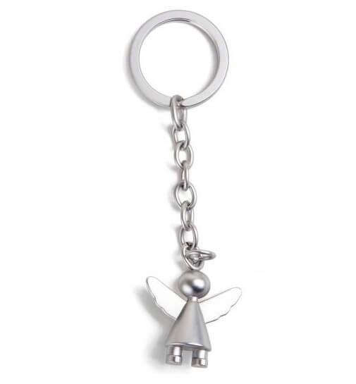 Schlüsselanhänger Schutzengel in Geschenkbox Matt
