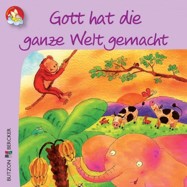 """Kinderbuch """"Gott hat die ganze Welt gemacht"""" im Miniformat"""