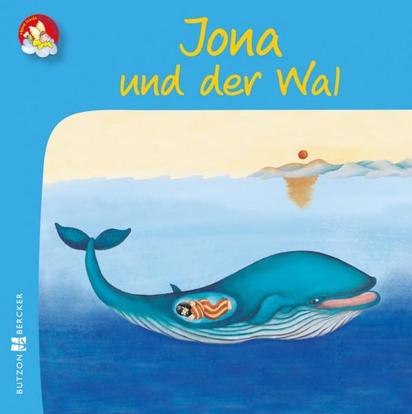 """Kinderbuch """"Jona und der Wal"""" im Miniformat"""