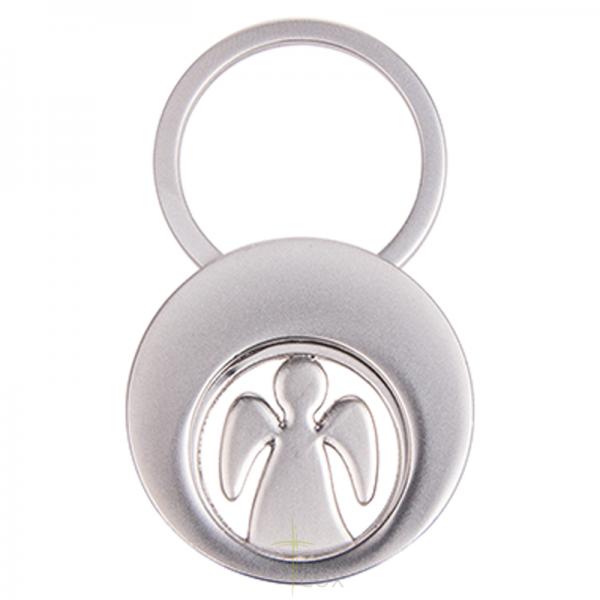 Schlüsselanhänger Schutzengel mit Einkaufswagen-Chip
