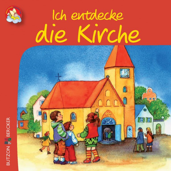 """Kinderbuch """"Ich entdecke die Kirche"""" im Miniformat"""