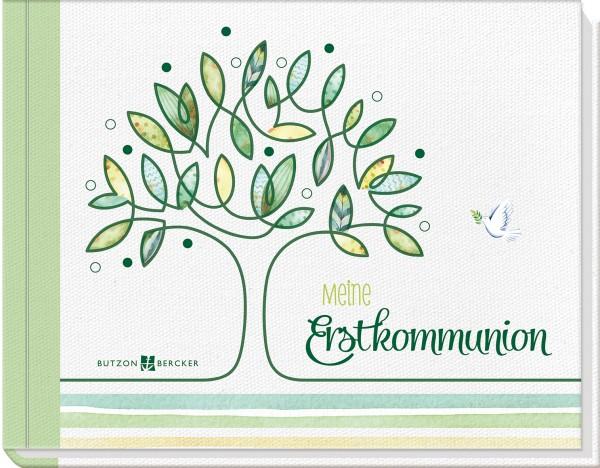 """Meine Erstkommunion """"Foto- und Erinnerungsbuch"""" Baum"""