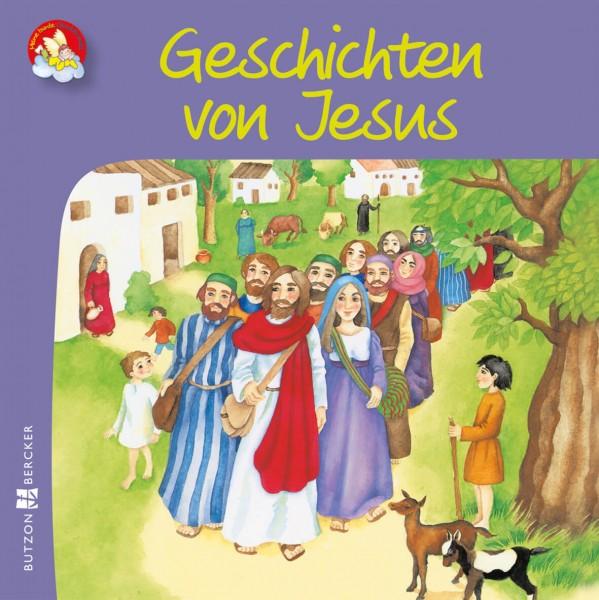 """Kinderbuch """"Geschichten von Jesus"""" im Miniformat"""