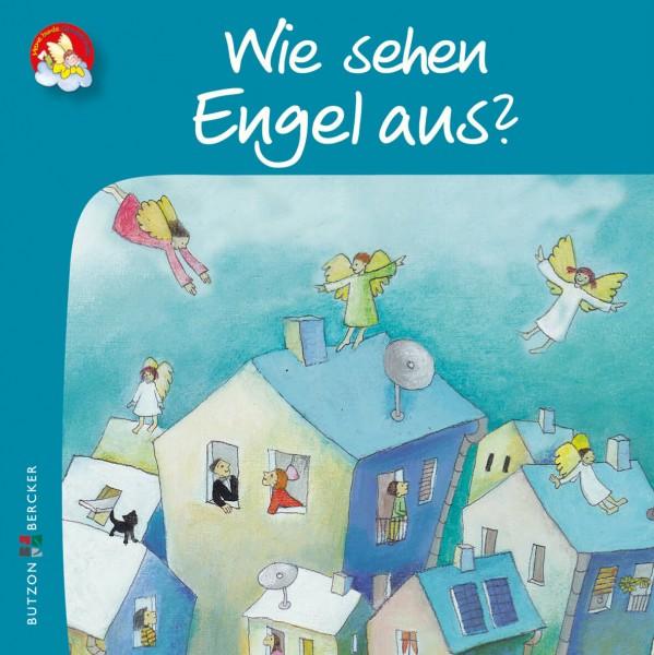 """Kinderbuch """"Wie sehen Engel aus?"""" im Miniformat"""