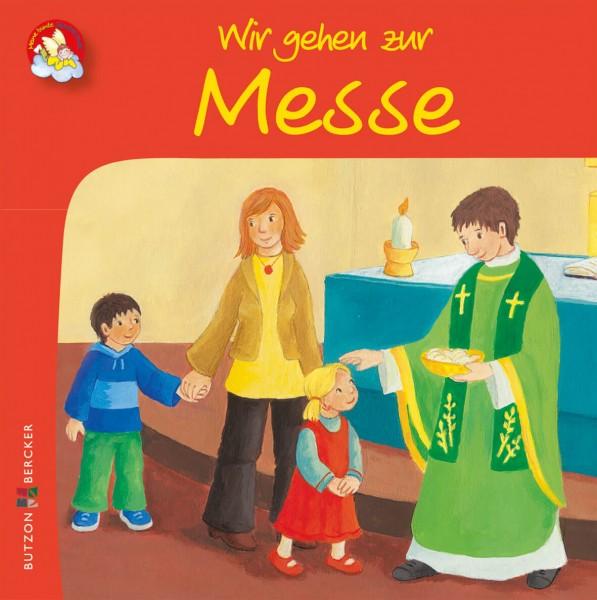 """Kinderbuch """"Wir gehen zur Messe"""" im Miniformat"""